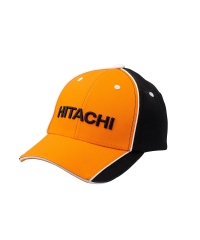 Cap black/orange HITACHI black