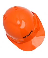 Safety helmet orange