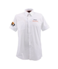 Short sleeve shirt white men Support Chain