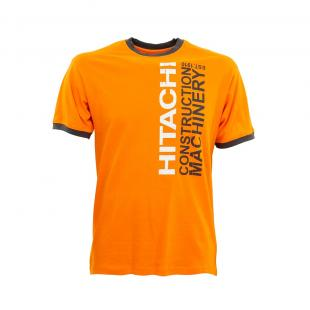 T-shirt new ringer orange