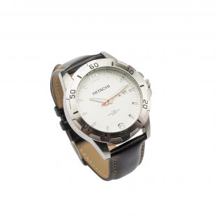 Watch padded leather black