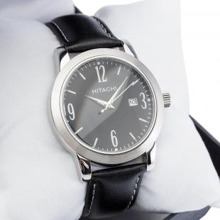 Watch with PU leather strap