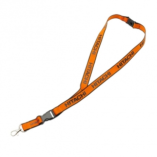 Lanyard orange/black